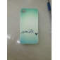 Smile Letter Pattern Hard Case for iPhone 4/4S