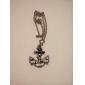 Vintage Rose era marine anchor chain necklace sweater N63