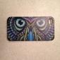 Colorful Owl Padrão Hard Case para iPhone4/4S
