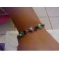 Vintage Colored Gems Diamond-Encrusted Bracelet
