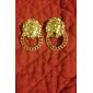 Boucles d'oreille goujon Alliage Mode Forme d'Etoile Bijoux Quotidien
