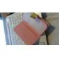 Soft Case Motif coloré de hibou en cuir PU avec fente pour carte et stand pour Samsung Galaxy S4 mini-I9190