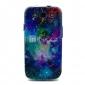 Motif Lion espace Shining Star TPU Soft Case pour Galaxy S3 I9300