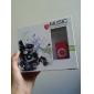 미니 클립 플러그 인 마이크로 SD 카드 TF 카드리더 MP3 음악 플레이어(다양한 색상)