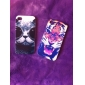 lovly Cat Glasses Pattern Hard Case for iPhone 4/4S