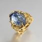Жен. Массивные кольца Обручальное кольцо Любовь Pоскошные ювелирные изделия бижутерия Цирконий Позолота 18K золото Бижутерия Бижутерия
