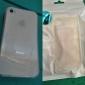 qianjiatian®transparent capa de silicone macio para apple 4 / 4s