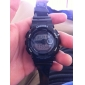 Masculino Relógio Esportivo Quartz LCD / Calendário / Cronógrafo Banda Preta / Branco marca-