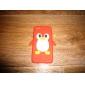 Cartoon Penguin Silicone Soft Case pour iPhone 5C (couleurs assorties)