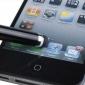 Растяжимый 55mm до 75mm Сенсорный Стилус с 3,5 Anti-Dust Разъем для Ipad, Iphone и другие (разных цветов)