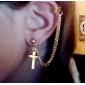 Cross Shaped Earrings