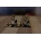 Серьги-гвоздики Сплав В форме животных Олень Бижутерия Для Повседневные
