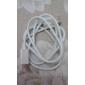 blanc USB mâle à mâle câble micro USB pour Samsung et autres téléphones intelligents (1m)