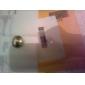 반지 파티 일상 캐쥬얼 보석류 펄 합금 라인석 여성 문자 반지 1PC,4 화이트 레드