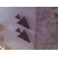 Серьги-гвоздики Сплав Заявление ювелирные изделия Панк Серебряный Бронзовый Бижутерия Повседневные