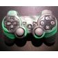 PS3 컨트롤러 (녹색과 검은 색)에 대한 보호 위장 스타일의 실리콘 케이스