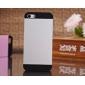 acabamento em metal caso capa dura para iphone 4 / 4s (cores sortidas)