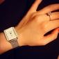 Women's Fashion Square Belt Rhinestones Guartz Wrist Watch(Assorted Colors) Cool Watches Unique Watches