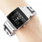 Women's Quartz Analog G-Style Dial Silver Steel Band Bracelet Watch (Assorted Colors) Cool Watches Unique Watches