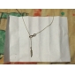 Eruner®Restoring Ancient Ways Feather & Infinite Alloy Necklace
