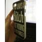 Я не сука шаблон жесткий футляр для iPhone 5 / 5s