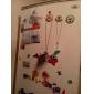 미니 잠자리 모양의 냉장고 자석 (임의 색상)