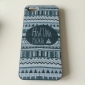아이폰 5/5S를위한 흑백 스타일의 패턴 단단한 케이스 덮개를