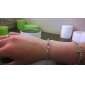 925 Sterling Silver S-Shaped Bracelet Christmas Gifts