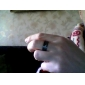 Ring Jewelry Alloy Men Couple Rings Black / Silver