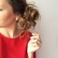 Boucles d'oreille goujon Perle Forme Ronde Bijoux Mariage Soirée Quotidien Décontracté