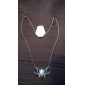 Silver Pendant Necklaces Alloy / Silver Plated Wedding / Party / Daily / Casual / Sports Jewelry