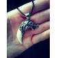 Lureme®Men's Fashion Titanium Steel Wolf's Fang Pendant Necklace