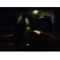 T10 Guirlande Automatique Moto Blanc 8W COB 5000-5500 Lampe de lecture Feux de position latéraux