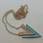 Colliers Tendance Pendentif de collier Bijoux Soirée / Quotidien Mode Alliage Noir / Bleu 1pc Cadeau