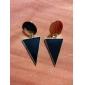 Boucle Boucles d'oreille goutte Bijoux Soirée / Quotidien Alliage / Acrylique Femme Noir / Jaune / Bleu / Incarnadin