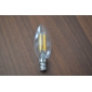 4W E14 LED Filament Bulbs CA35 4 380 lm Warm White Decorative AC 220-240 V