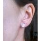Femme Boucles d'oreille goujon bijoux de fantaisie Argent sterling Note de Musique Bijoux Pour Soirée Quotidien Décontracté