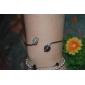 Femme Manchettes Bracelets Imitation de diamant Alliage Classique Mode Forme de Coeur Amour Bijoux