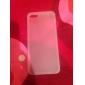TPU pare-chocs arrière dépoli cas pour iphone 5 / 5s (couleurs assorties)