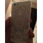 Pour Coque iPhone 5 Ultrafine Transparente Motif Coque Coque Arrière Coque Mandala Flexible PUT pour iPhone SE/5s/5