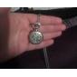 Женские Модные часы Кварцевый Нержавеющая сталь Группа Винтаж Серебристый металл