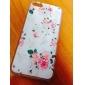 Linda flor padrão Capinha Dura para iPhone 5C