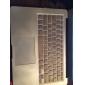 vente supérieure pvc style métal dur plein boîtier de corps et tpu couvercle du clavier pour MacBook Air 13,3 pouces