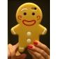 아이폰 기가 6 진저 브레드 남자 실리콘 전화 케이스 플러스