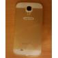 специальная конструкция крышки сплошной цвет металла назад и бампер для Samsung Galaxy S4 i9500