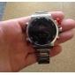 WEIDE Masculino Relógio de Pulso Quartzo Quartzo JaponêsLED Calendário Cronógrafo Impermeável Dois Fusos Horários alarme Relógio