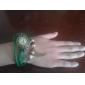 Женские Модные часы Часы-браслет Кварцевый PU Группа Винтаж Богемные Черный Синий Красный Оранжевый Зеленый