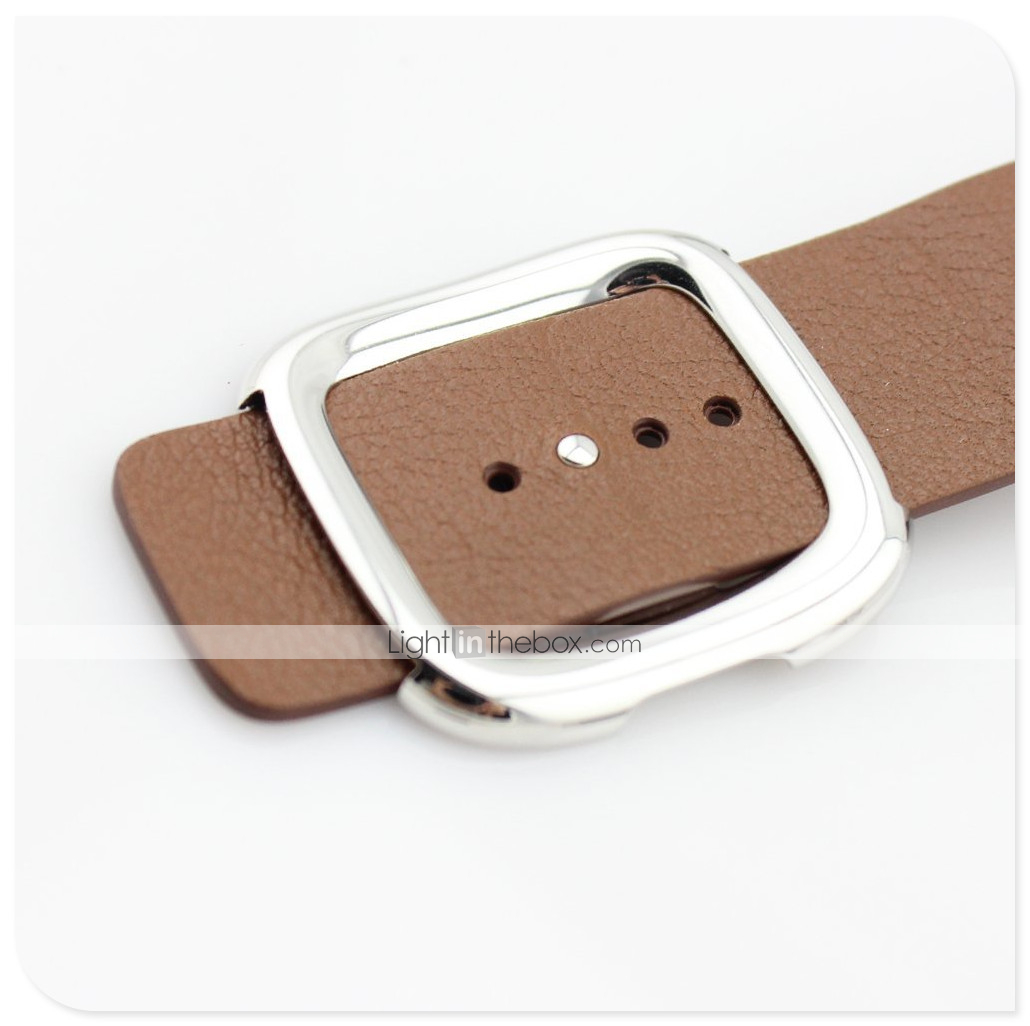 Promo Watch 9to5toys Termurah 2018 Christ Verra 52299g 26 Jam Tangan Pria Leather Strap Hitam Band For Apple Series 4 3 2 1 Modern Buckle Photos