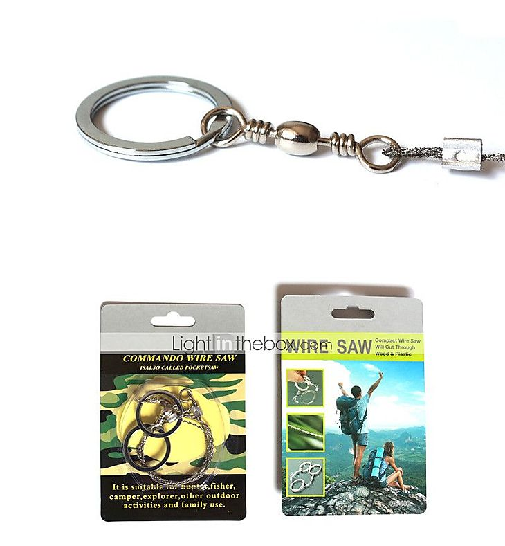 Steel Wire Saw Saws Hiking Camping Travel Outdoor Digital Military ...
