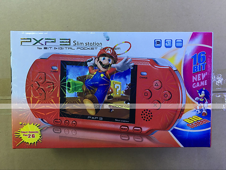 16 Bit Handheld Retro Portable Video Console Electronic LCD Game